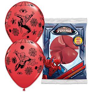 Läs mer om Spiderman 6x ballonger