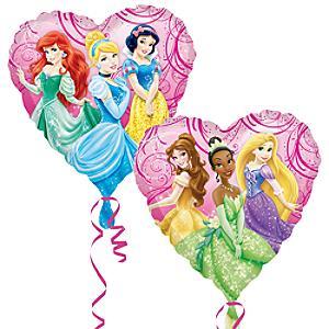 Läs mer om Disney Prinsessor folieballong