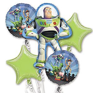 Läs mer om Toy Story ballongbukett
