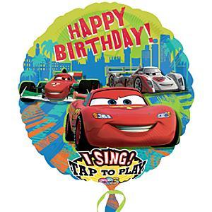 Läs mer om Disney Pixar Bilar talande ballong