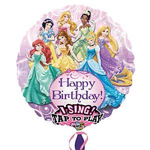 Läs mer om Disney Prinsessor sjungande ballong
