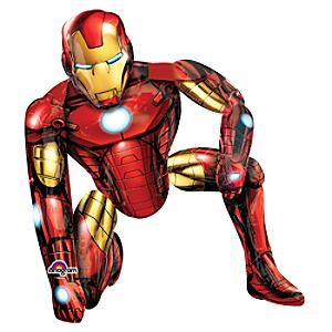 Läs mer om Iron Man vandrande ballong