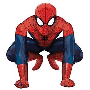 Läs mer om Spiderman vandrande ballong