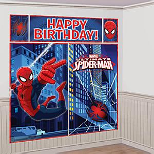 Läs mer om Spider-Man partykuliss