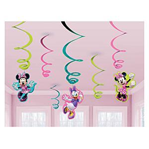 Minnie Maus - Partydekorationen spiralförmig