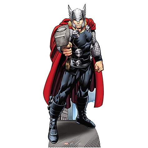 Silhouette Thor