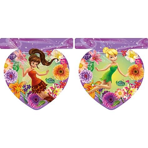 Guirlande de fanions Disney Les Fées