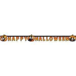 Läs mer om Musse Pigg Happy Halloween-banderoll