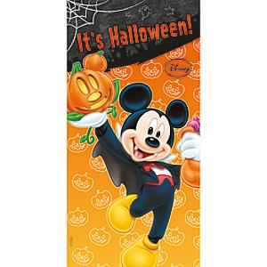 Läs mer om Halloween Musse Pigg dörrbanderoll