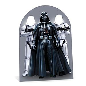 Läs mer om Star Wars utstansad figur med hål för ansiktet