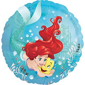 Läs mer om Den lilla sjöjungfrun folieballong