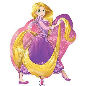 Läs mer om Rapunzel stor formballong, Trassel