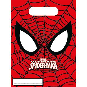 spiderman 6x party bags