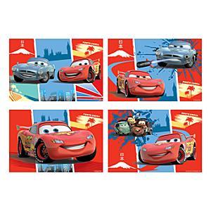 Läs mer om Disney Pixar Bilar 4x pussel