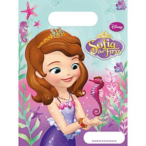 sofia the first 6x party bag pack