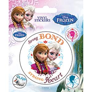 frozen vinyl sticker sheet