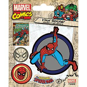 spiderman vinyl sticker sheet