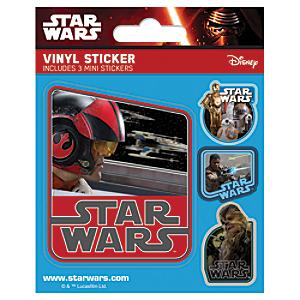 star wars vinyl sticker sheet