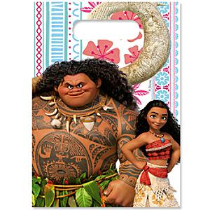 moana 6x party bag pack