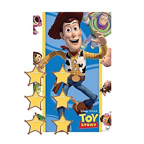 Jeu festif Colle l'insigne Toy Story