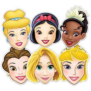 Läs mer om Disney Prinsessor 6x masker