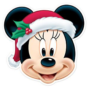 minnie mouse christmas mask