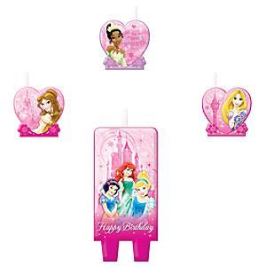 Läs mer om Disney Prinsessor födelsedagsljus