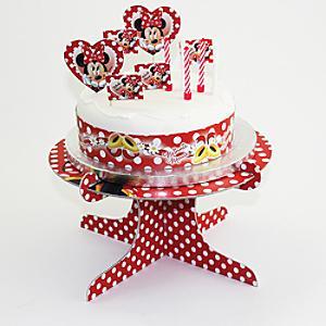 Läs mer om Mimmi Pigg set med tårtdekorationer