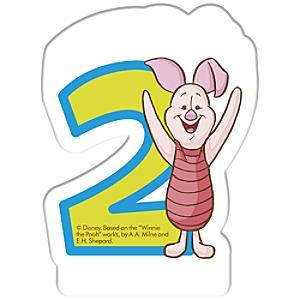 Läs mer om Nalle Puh födelsedagsljus, 2 år