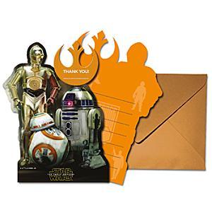 Läs mer om Droider 6x tackkort, Star Wars: The Force Awakens