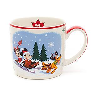 Läs mer om Musse Pigg och hans vänner julmugg, Walt Disney World