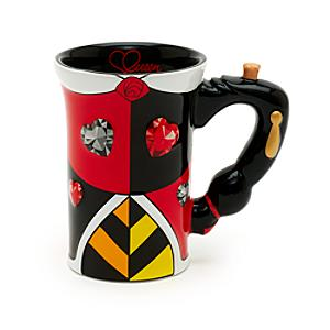 Walt Disney World Queen of Hearts Sculpted Mug Alice in Wonderland