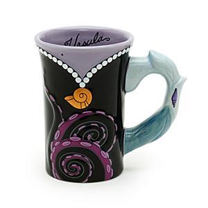 Walt Disney World Ursula Sculpted Mug The Little Mermaid