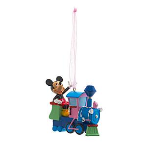 Läs mer om Musse Pigg tågdekoration, Disneyland Paris