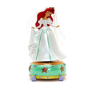Läs mer om Disneyland Paris Ariel statyett med speldosa, Den lilla sjöjungfrun
