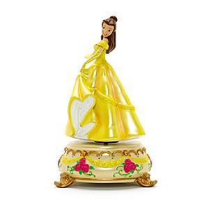 Läs mer om Disneyland Paris Belle statyett med speldosa, Skönheten och Odjuret