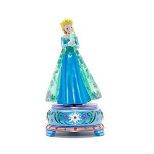 Läs mer om Disneyland Paris Elsa statyett med speldosa, Frost