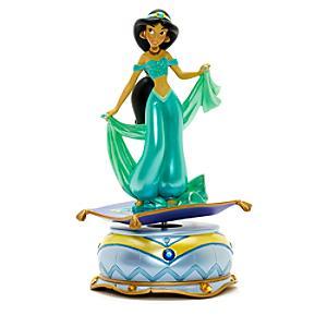 Läs mer om Disneyland Paris Prinsessan Jasmin statyett med speldosa, Aladdin