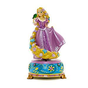 Läs mer om Disneyland Paris Rapunzel statyett med speldosa, Trassel