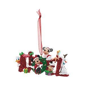 Läs mer om Musse och hans vänner, Noel-juldekoration, Disneyland Paris