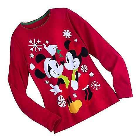 Pyjama de Noël Minnie et Mickey Mouse pour adultes - XS
