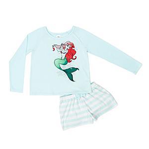 Läs mer om Den lilla sjöjungfrun pyjamas, vuxenstorlek