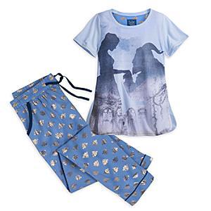 Läs mer om Skönheten och Odjuret pyjamas (flickor)