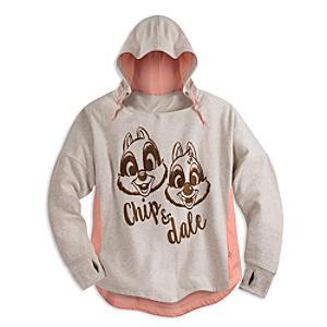 Läs mer om Piff och Puff sweatshirt med huva, vuxenstorlek