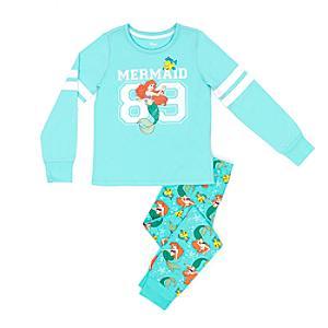 Läs mer om Den lilla sjöjungfrun-pyjamas i barnstorlek