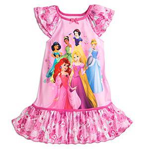 Läs mer om Disney Prinsessor-nattlinne i barnstorlek