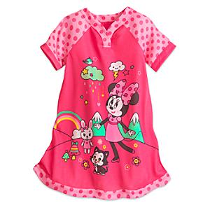 Minnie Mouse Nightdress For Kids -  3 Years