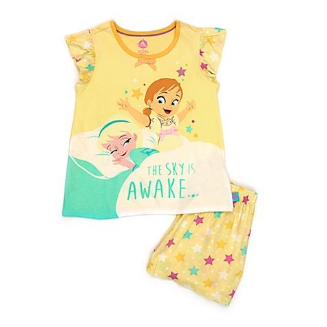 Pyjama de qualité supérieure La Reine des Neiges pour enfants - 7-8 ans