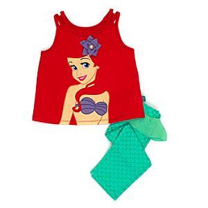 Läs mer om Den lilla sjöjungfrun premiumpyjamas