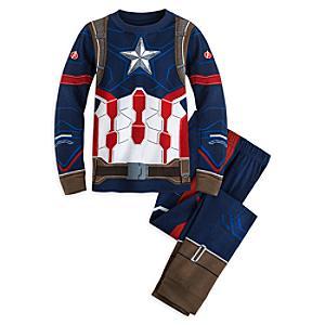 Läs mer om Captain America pyjamas